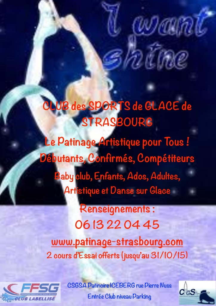 Informations patinage