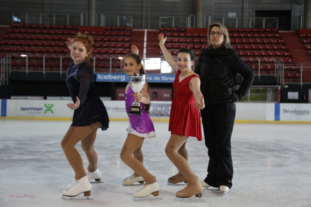 Championnat France Club 2016 : Irmak, Estée, Anna.